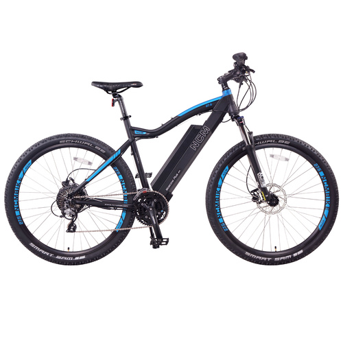 NCM Moscow Plus Electric Mountain Bike 768Wh Battery